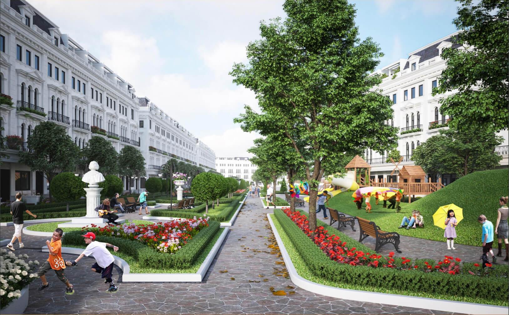 Liền Kề Vườn Louis City